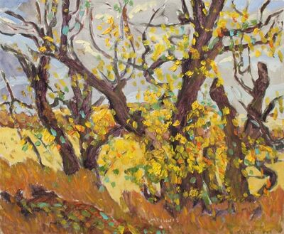 RFM McInnis, 'Yellowing Trees', 2001