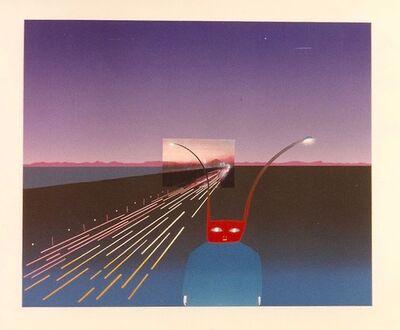 Jean Michel Folon, 'Je vous ecris de Mt. Fuji', Unknown