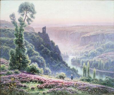 William Didier-Pouget, 'Le matin, Bruyère en fleur', 19th Century