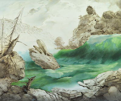Slava Seidel, 'Paysage allegorique', 2018