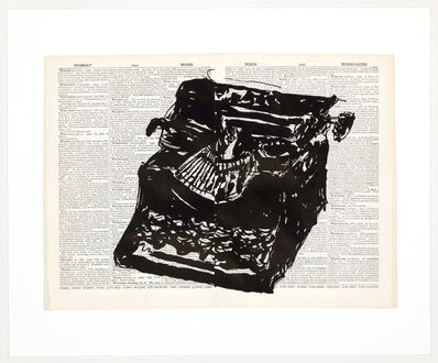 William Kentridge, 'Universal Archive (Ref. 63)', 2012