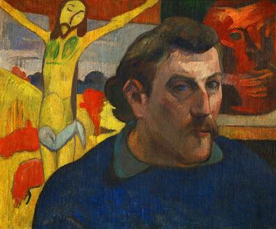 Paul Gauguin, 'Self-portrait with Yellow Christ', 1890-1891