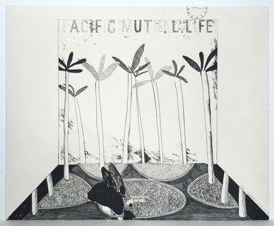 David Hockney, 'Pacific Mutual Life', 1964
