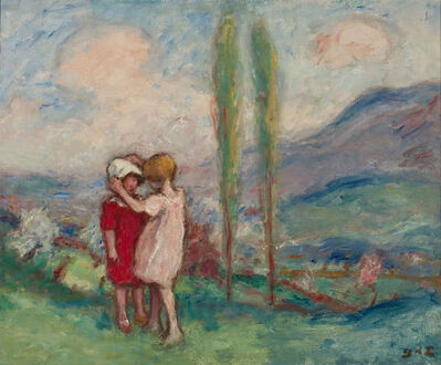 Georges d'Espagnat, 'Children in a Park ', ca. 1900