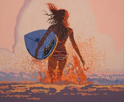Billy Schenck, 'Surfer Girl XIII'