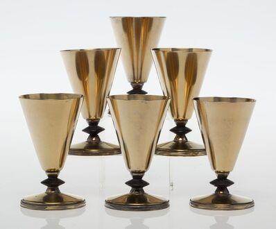 Albert F. Saunders, 'Six Cocktail Cups', circa 1928