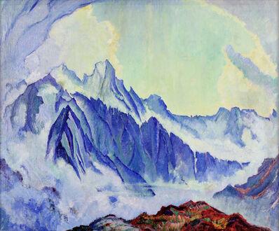 Clara Porges, 'Gruppe Sciora (in blau nach einem Gewitter)', not dated