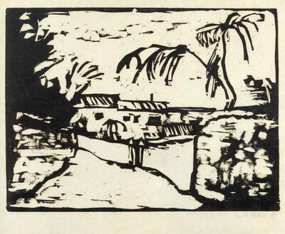 Erich Heckel, 'Weg bei Rom (Path by Rome)', 1909