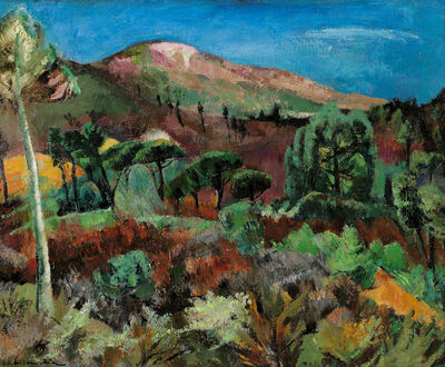 Willy Eisenschitz, 'Collines de Ramatuelle, Var', 1950