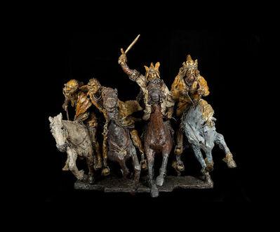 Gib Singleton, 'Four Horsemen of the Apocalypse - Book Edition', 2015