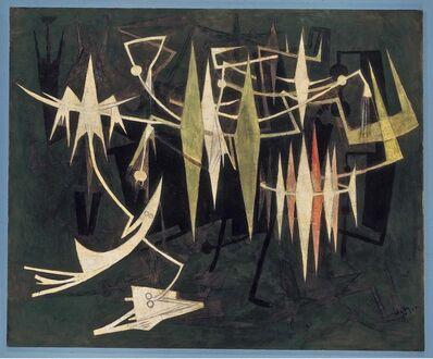 Wifredo Lam, 'Al Final de la Noche', 1969