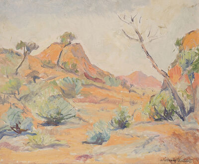 William Frater, '(MacDonnell Ranges - Mount Zeil?)', ca. 1950