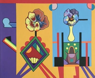Trevor Winkfield, 'Podium Blooms', 2014