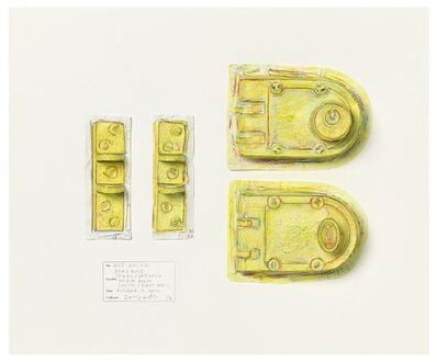 Do Ho Suh, 'Rubbing/Loving Project: Deadbolt, Unit 2, 348 West 22nd Street, New York, NY 10011, USA', 2015