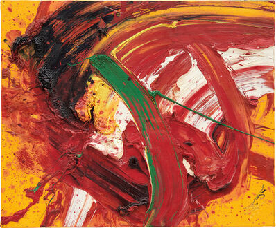 Kazuo Shiraga, 'Exhilarating', 1989