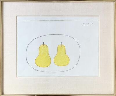 William Scott (1913-1989), 'Two Pears', 1975