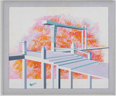 Glauco Rodrigues, 'Por do Sol na Casa de Praia do Assessor', 1981