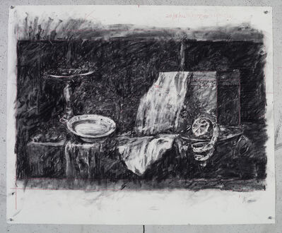 William Kentridge, 'Drawing for City Deep (Still Life)', 2018