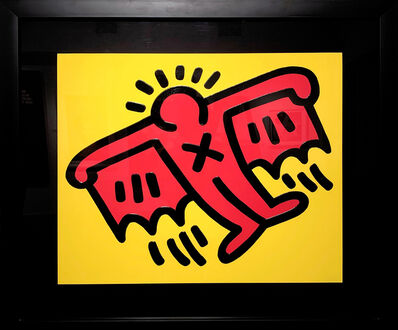 Keith Haring, 'Flying Devil', 1990