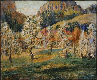 Ernest Lawson, 'May in the Mountains', 1919