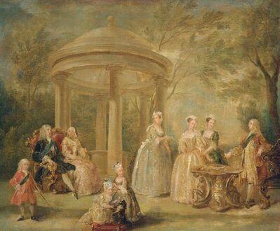 William Hogarth, 'The Family of George II', ca. 1731-1732