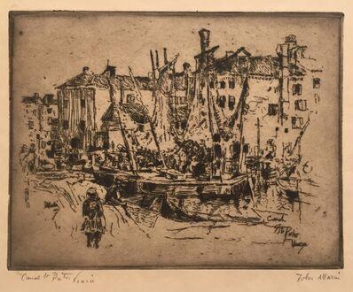 John Marin (1870-1953), 'Canal St. Pietro, Venice', 1907
