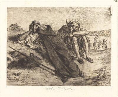 Eugène Delacroix, 'Arabs of Oran (Arabes d'Oran)', 1833