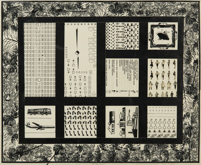 Allan D'Arcangelo, 'Landscape', 1967