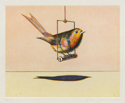 Wayne Thiebaud, 'Bird', 1979