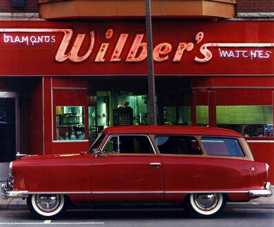 Bruce Wrighton, '1953 Nash Rambler, Wilber's Jewelers, Johnson City, NY', ca. 1987