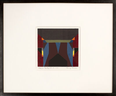 Fanny Sanin, 'Study for Painting No. 1(3)', 2002