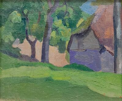 Robert Bevan, 'Study of Dunn's Cottage, Applehayes, Somerset', 1915