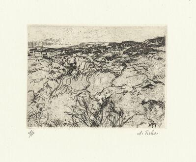Anna Ticho, 'Hills of Jerusalem #1', 1960