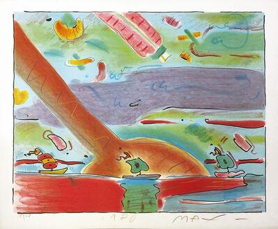 Peter Max, 'SAILBOATS', 1980