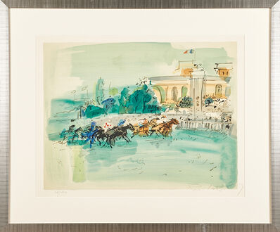 Raoul Dufy, 'Two untitled lithographs'
