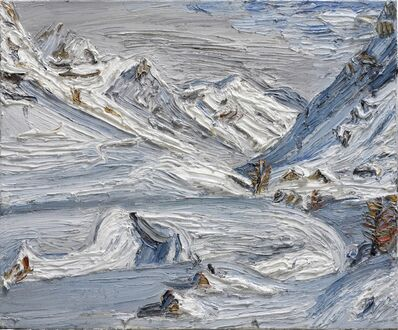 Christopher Lehmpfuhl, 'Weisse Gipfel am Bernina Diavolezza', 2015