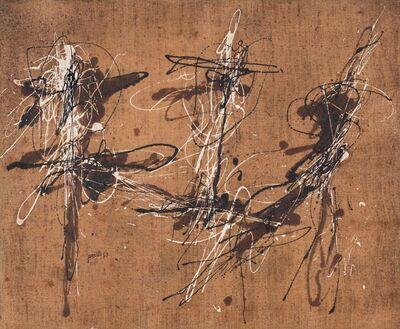 Achille Perilli, 'Contact', 1955