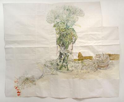 Dawn Clements, 'Chrysanthemums', 2014