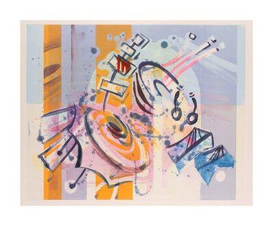 Edward Beckett, 'Takemitsu Spirit Garden - violet mood', 2015