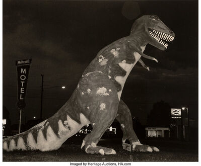 Steve Fitch, 'Dinosaur, Highway 40, Vernal, Utah', 1974