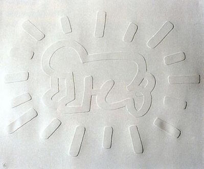 Keith Haring, 'White Icons- Radiant Baby', 1990