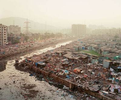 Noah Addis, 'Lallubhai Compound Eviction #1; Mankhurd, Mumbai', 2011