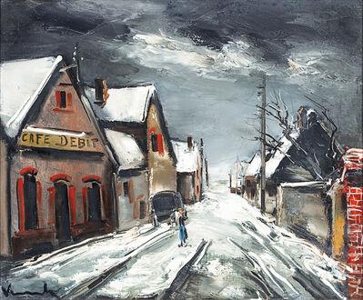 Maurice de Vlaminck, 'Rue de Village Sous la Neige', 20th Century