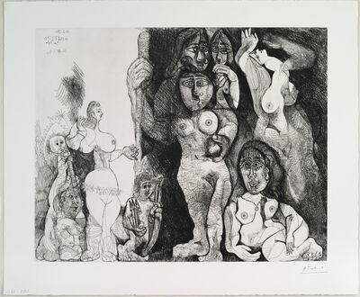 Pablo Picasso, 'Spectacle: L'amour s'aventurant chez les femmes', 1970