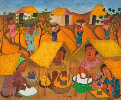 Micius Stephane, 'Haitian Market ', ca. 1963
