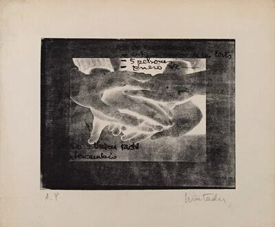 Antoni Muntadas, 'Mobile Touch Structure', 1972