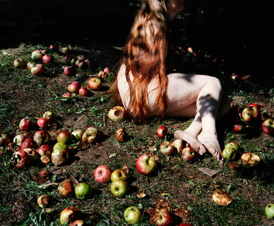 Jocelyn Lee, 'Jenna and Fallen Apples', 2017