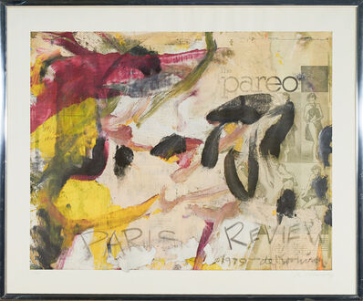 Willem de Kooning, 'Paris Review', 1979
