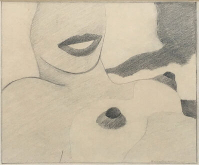 Tom Wesselmann, 'Great American Nude Drawing for Silkscreen Nude', 1965