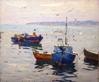 Antonio Cirino, 'Feeding Seagulls', 1889-1983